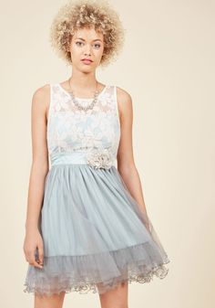 Home Sweet Scone A-Line Dress in Earl Grey
