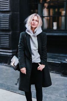Herbst - Herbst - Winter - Akne Studios - Mode - Inspiration - A / W 18 - FW 18 - Wintermode - Beauty Tipps - Winter Mode Mode Outfits, Casual Outfits, Fashion Outfits, Fashion Tips, Dress Casual, Outfits 2016, Dress Fashion, Winter Outfits, Fashion Styles