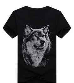 1cd9714a LONE WOLF Animal Print T Shirts, Men's Fashion Brands, Men Fashion, Latest  Fashion