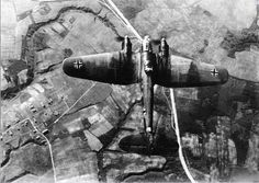 Heinkel He111 Bomber on a flight over Russia in the area Orsha / Smolensk in the central sector of the Eastern front