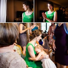Green lace wedding dress by Mignonette / A bride in a green wedding dress for a creative Jewish wedding at Bridgeport Art Center, Chicago, USA / Allison Williams Photography / http://www.smashingtheglass.com/2016/07/22/bride-green-wedding-dress-creative-jewish-wedding-bridgeport-art-center-chicago-usa/