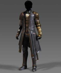 ArtStation - LEATHER SUIT, Eric Yin