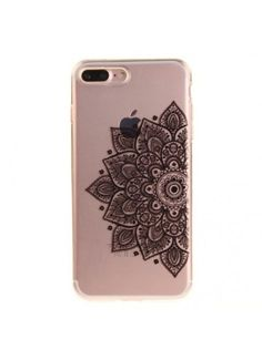 coque iphone 7 mandala noir