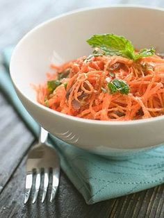 Moroccan Carrot and Date Salad - for dinner tonight with a nice steak - use much less dressing next time too oily