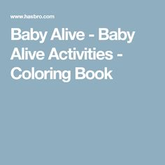 baby alive Charlotte Pinterest Baby alive Babies and