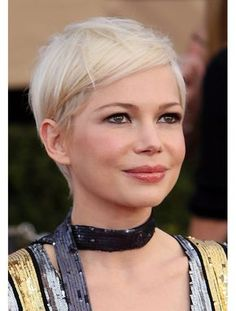 Michelle Williams Short hair really suits her.