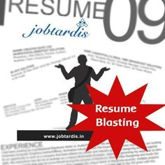 Post your info. & make it boost the mailbox of an incredible no.of interviewers & companies http://www.jobtardis.in/resume-blasting.php