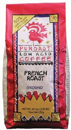 Puroast Low Acid Coffee, Ground Dark French Roast « Lolly Mahoney
