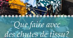 Toute couturière est confrontée au problème des chutes, surtout si, comme moi, on est une radine du tissu qui essaie toujours de caser ses p... Denim Crafts, Sewing, Crochet, Inspiration, Baby Coming Home Outfit, Hydrangeas, Tuto Couture Facile, Sewing Tips, Killed In Action