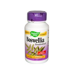 Nature's Way Boswellia Standardized (60 Tablets)