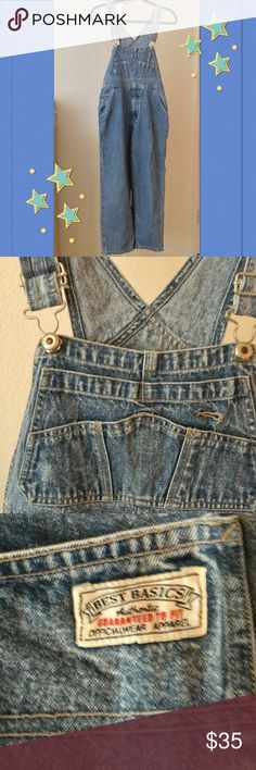 💙💙 Gap Classic overall Jean 💙💙 Size L 🌟✨ Excellent condition!! 🌟✨ GAP Jeans Overalls