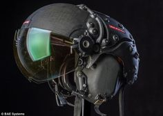 The 'virtual reality' fighter pilot helmet that can see in the dark - and knows exactly where its wearer is looking | Mail Online