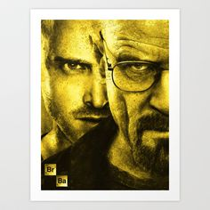 Breaking Bad Art Print by Jamie R. Stone