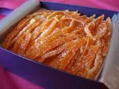 Цукаты из апельсиновых корок. | Шедевры кулинарии