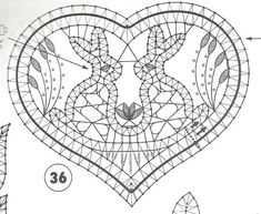 VK is the largest European social network with more than 100 million active users. Bobbin Lace Patterns, Embroidery Patterns, Crochet Patterns, Easter Bunny Crochet Pattern, Bobbin Lacemaking, Lace Art, Lace Jewelry, Needle Lace, Lace Making
