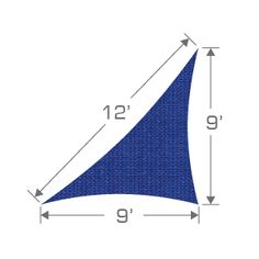 Blue TS912 Shade Sail