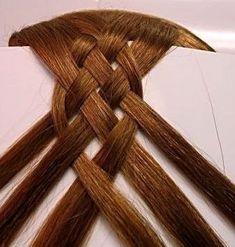 Sixth  strand braid             Eighth Strand Braid             Weaving braids of six or eight strands - a complex process, but the result ...