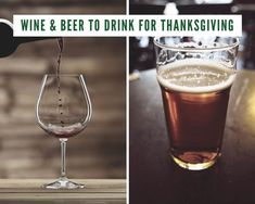 "Ever wondered what beers and wines you should have on hand for Thanksgiving? Well here's the answer to help keep your guests ""hydrated""!   1. Pale Ale/IPA - This..."