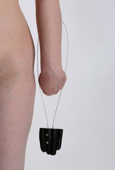 "lis2 ""BodyParts"" series, necklace, photo by Marta Sulkowska (2011)"