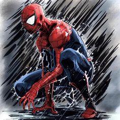"""5,617 mentions J'aime, 4 commentaires - Antman616 (@rogue_comics_) sur Instagram : """"Art: <HyunSung Lee> #spiderman#marvel"""""""