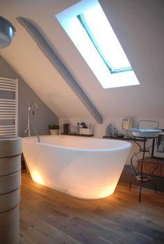baños modernos con hechos con cristal - Buscar con Google