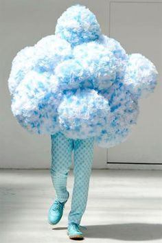 Walter Van Beirendonck S/S2012 'CLOUD #9' ...so strange, I just love it.