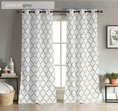 Modern Geometric Curtains | Set of 2 | Jane