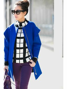 Street Style: Bright Winter Coats