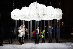 Giant Pixar lamps and interactive cloudslightup the night at LuxHelsinki