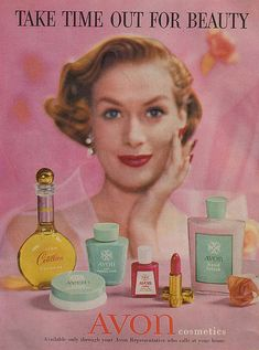 lovely old add...Make your own Avon memories with buying or selling Avon contact me at youravon.com/lorraineavon