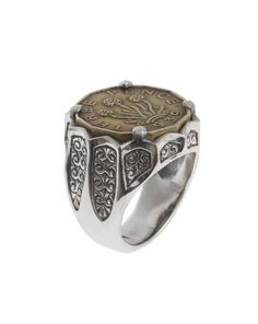 Hoye Division Silver limited edition coin ring