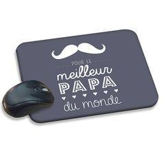Tapis de souris personnalisé - Message Papa 42873