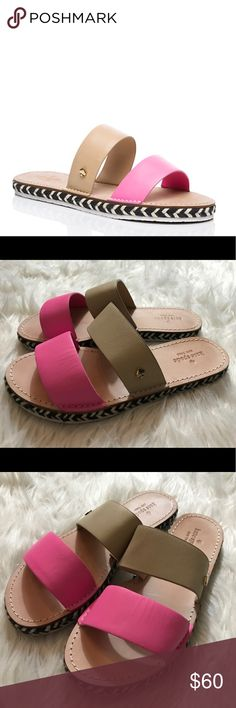 Kate Spade Idreena Slide Sandals Great preowned condition kate spade Shoes Sandals