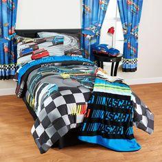 "NASCAR ""Bump Drafting"" Twin/Full Bedding Comforter - Walmart.com"