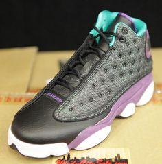 I want for my birthday!!!!! Air Jordan XIII GS Grape (2013)