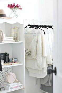 Essential Elements: Closet Makeover | Quentin & Co