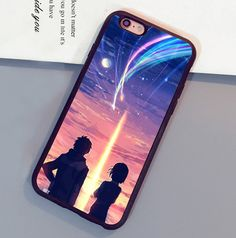 Your Name Kimi no Na wa Anime Printed Luxury Mobile Phone Cases For iPhone 6 6S Plus 7 7 Plus 5 5S 5C SE 4S Soft Rubber Cover