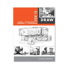 How to Draw is for artists, architects and designers. It is useful to the novice, the student and the professional. You will learn how to draw any object or environment from your imagination, starting with the most basic perspective drawing skills.