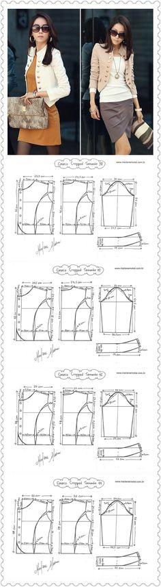 Ver piezas y costuras en cintura
