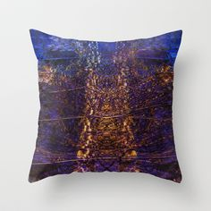 Abstraction Throw Pillow by Jean-François Dupuis - $20.00