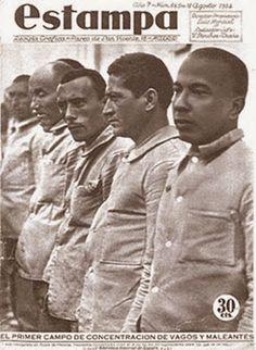 En 1933 Se aprueba la ley de vagos Y maleantes, por el gobierno de Manuel Azaña. Para poder dar salida a la cantidad de presos (2400 en un solo mes) que propició esta ley se planifico la construcción de tres campos de concentración en la peninsula y uno en Annobón, por esos tiempos colonia española