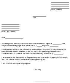 Promissory Note Template | forms template | Pinterest | Promissory ...