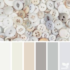 «today's inspiration image for { buttoned tones } is by @suertj ... thank you, Sue, for your wonderfully inspiring #SeedsColor image share!»