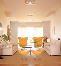 Bright And Contemporary Feng Shui Living Room
