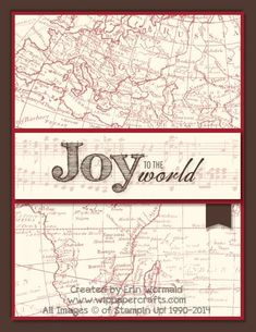 Joy to the World by WIP Paper Crafts - Cards and Paper Crafts at Splitcoaststampers