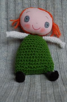 Handmade doll with personality