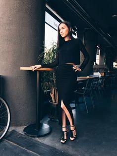 Paris Street, Lingerie Models, Leather Skirt, The Past, Korean, Feminine, Female, Skirts, Outfits