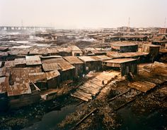 Slums of Tijuana, believe it or not, those living in these shacks were lucky!