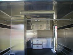 Aluminum Walls & Ceiling; Cabinets; E-Track; Alpha Rubber Floor