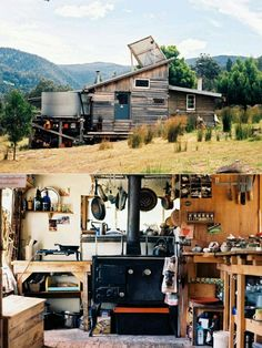 Living off the grid ...